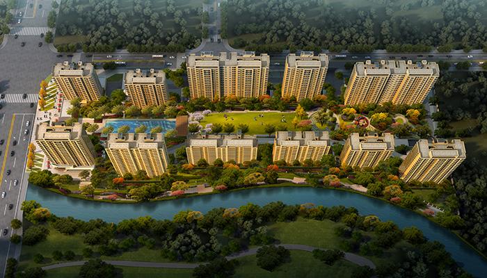 万科·星空,万科·溪望位居未来科技城,延续了万科在蝶园,西庐的优势