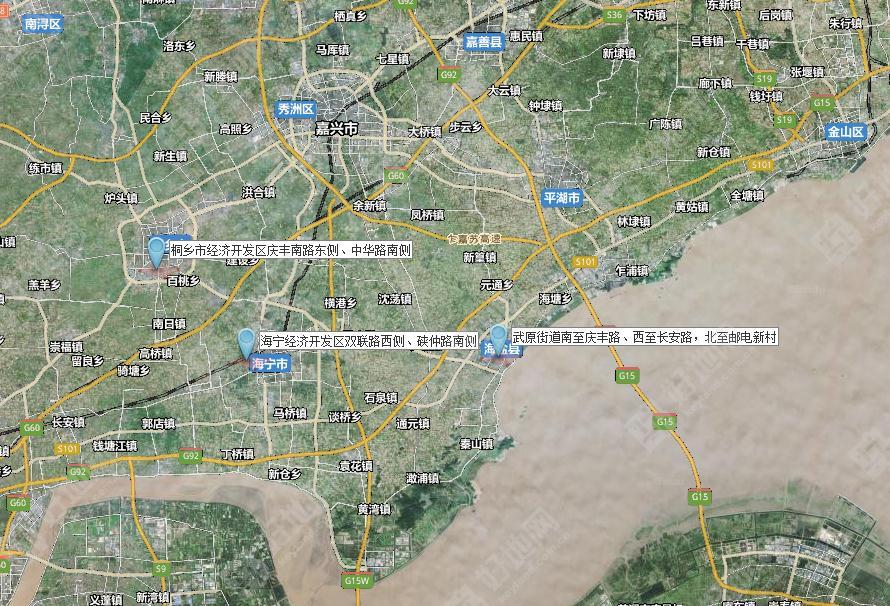 最新海盐城市规划图