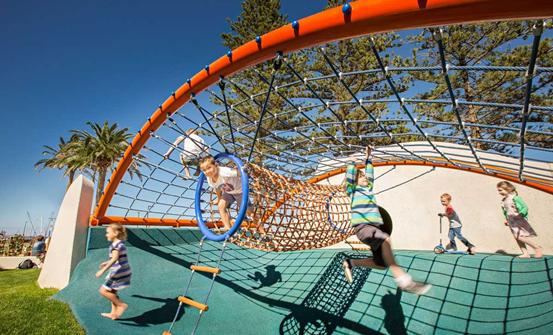 龙湖天钜儿童海洋主题乐园意向图